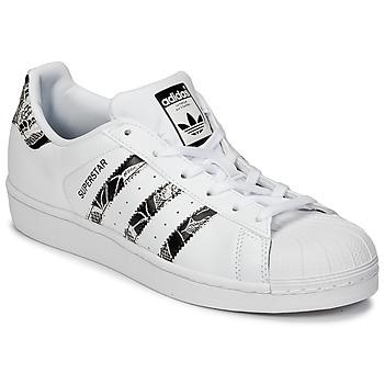 Topánky Ženy Nízke tenisky adidas Originals SUPERSTAR W Biela