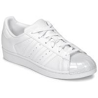 Topánky Ženy Nízke tenisky adidas Originals SUPERSTAR GLOSSY TO Biela