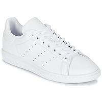 Topánky Deti Nízke tenisky adidas Originals STAN SMITH J Biela