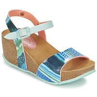 Topánky Ženy Sandále Desigual BIO 7 BLUE AQUARELLA Modrá