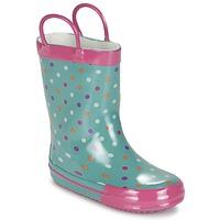 Topánky Dievčatá Čižmy do dažďa Be Only LIZZIE Modrá