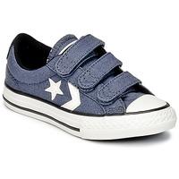 Topánky Chlapci Nízke tenisky Converse STAR PLAYER 3V VINTAGE CANVAS OX Modrá / Biela