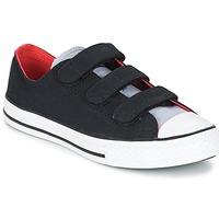 Topánky Chlapci Nízke tenisky Converse CHUCK TAYLOR ALL STAR 3V SPRING FUNDAMENTALS OX čierna / Modrá / Biela