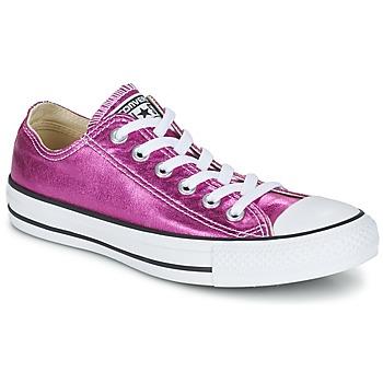 Topánky Ženy Nízke tenisky Converse CHUCK TAYLOR ALL STAR SEASONAL METALLICS OX Ružová / Metalická