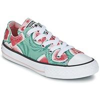 Topánky Dievčatá Nízke tenisky Converse CHUCK TAYLOR ALL STAR WATERMELON OX Zelená / červená / Biela