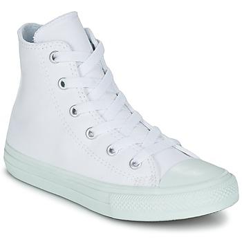 Topánky Dievčatá Členkové tenisky Converse CHUCK TAYLOR ALL STAR II PASTEL SEASONAL TD HI Biela / Modrá / Modrá