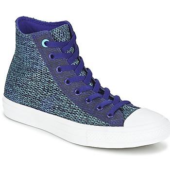 Topánky Muži Členkové tenisky Converse CHUCK TAYLOR ALL STAR II OPEN KNIT HI Modrá