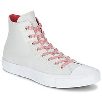 Topánky Členkové tenisky Converse CHUCK TAYLOR ALL STAR II BASKETWEAVE FUSE HI Krémová / Biela / červená