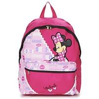 Tašky Dievčatá Ruksaky a batohy Disney MINNIE SCRATCH DOTS SAC A DOS BORNE červená / Ružová