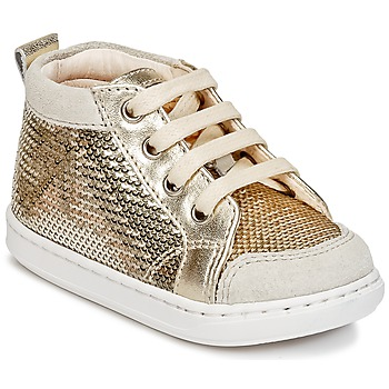 Topánky Dievčatá Členkové tenisky Shoo Pom BOUBA NEW COVER Zlatá