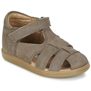 Topánky Chlapci Sandále Shoo Pom PIKA BOY Hnedošedá