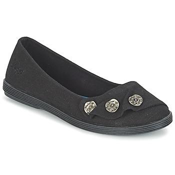 Topánky Ženy Balerínky a babies Blowfish GARDEN čierna