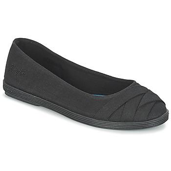Topánky Ženy Balerínky a babies Blowfish GLO čierna