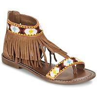 Topánky Ženy Sandále Metamorf'Ose ZACCIN Hnedá