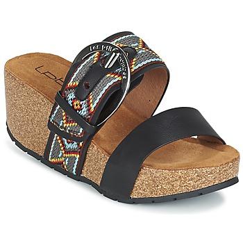 Topánky Ženy Šľapky Les P'tites Bombes GLYCINE čierna