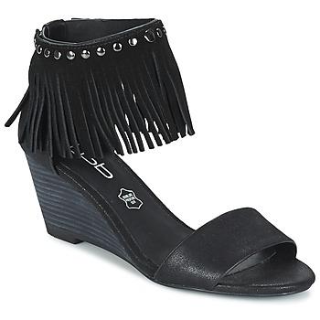 Topánky Ženy Sandále LPB Shoes NADIA Čierna