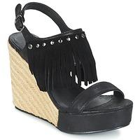 Topánky Ženy Sandále LPB Shoes SABINE Čierna