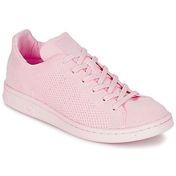 Topánky Ženy Nízke tenisky adidas Originals STAN SMITH PK Ružová