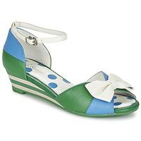 Topánky Ženy Sandále Lola Ramona LENNIE Modrá / Zelená