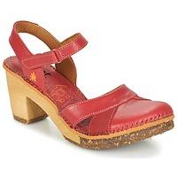 Topánky Ženy Sandále Art AMSTERDAM Karmínová červená