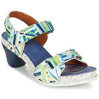 Topánky Ženy Sandále Art I  ENJOY Modrá / Zelená