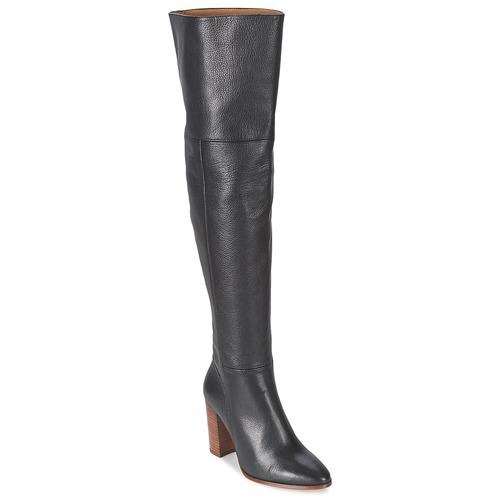 Topánky Ženy Cizmy Nad Kolenà Fericelli NIRI Čierna