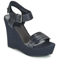 Topánky Ženy Sandále G-Star Raw CLARO WEDGE Námornícka modrá