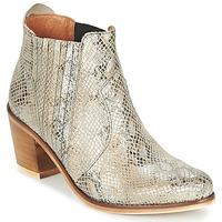 Topánky Ženy Čižmičky Coqueterra SHEILA Béžová