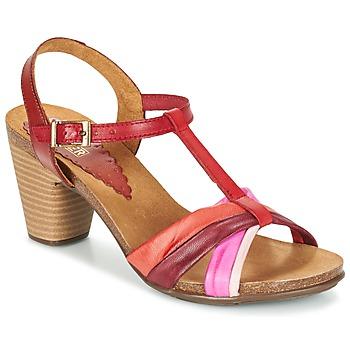 Topánky Ženy Sandále Bunker LIZ červená / Ružová
