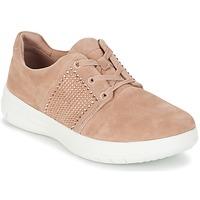 Topánky Ženy Nízke tenisky FitFlop SPORTY-POP X CRYSTAL Ružová