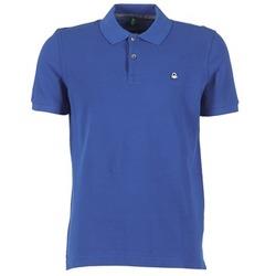 Oblečenie Muži Polokošele s krátkym rukávom Benetton FOBIKA Modrá