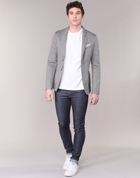 Oblečenie Muži Džínsy Slim Benetton JUSKU Modrá / Raw