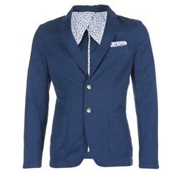 Oblečenie Muži Saká a blejzre Benetton MASKIOL Námornícka modrá