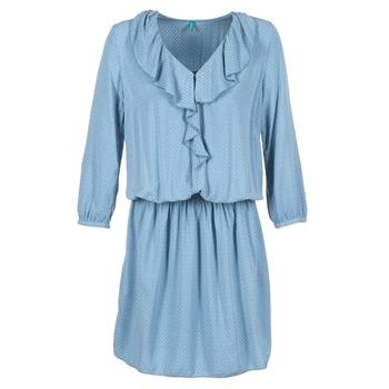 Oblečenie Ženy Krátke šaty Benetton AFIDOUL Modrá