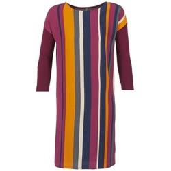 Oblečenie Ženy Krátke šaty Benetton VAGODA Bordová / Viacfarebná