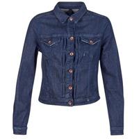 Oblečenie Ženy Džínsové bundy Benetton FESCAR Modrá / Dark