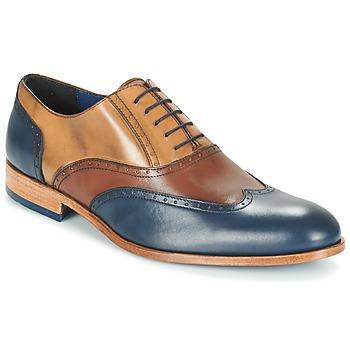 Topánky Muži Richelieu Brett & Sons ROLIATE Hnedá / Béžová / Modrá