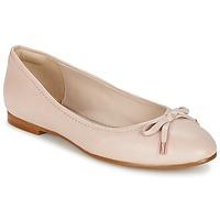 Topánky Ženy Balerínky a babies Clarks GRACE LILY Ružová