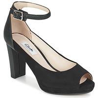 Topánky Ženy Sandále Clarks KENDRA ELLA Čierna