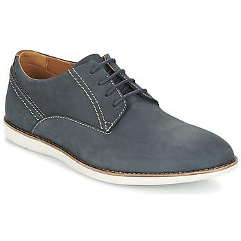 Topánky Muži Derbie Clarks FRANSON PLAIN Modrá