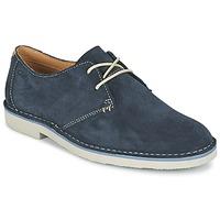 Topánky Muži Derbie Clarks JARETH WALK Modrá