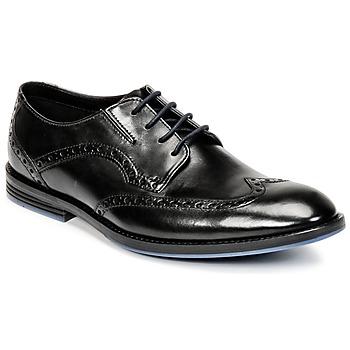 Topánky Muži Richelieu Clarks PRANGLEY LIMIT čierna