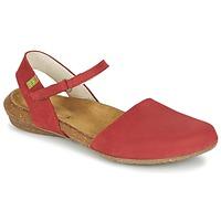 Topánky Ženy Sandále El Naturalista WAKATAUA Červená