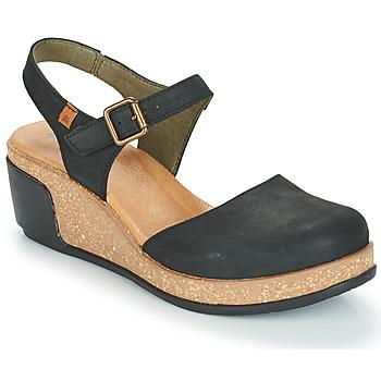 Topánky Ženy Sandále El Naturalista LEAVES Čierna