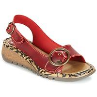 Topánky Ženy Sandále Fly London TRAMFLY Červená