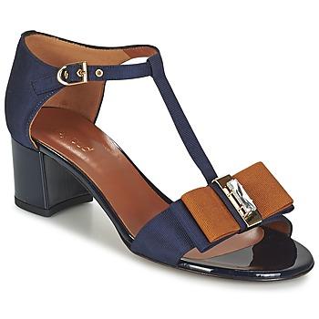 Topánky Ženy Sandále Heyraud ENAEL Modrá / Hnedá / čierna