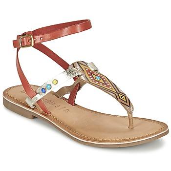 Topánky Ženy Sandále Lola Espeleta ELODIE červená / Strieborná