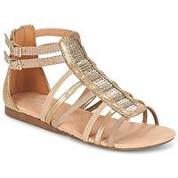 Topánky Dievčatá Sandále Bullboxer JEZIANA Zlatá