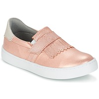 Topánky Dievčatá Slip-on Bullboxer ADJAGUE Ružová / Zlatá