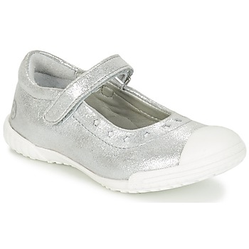 Topánky Dievčatá Balerínky a babies Mod'8 PRISCA Strieborná
